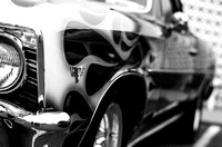 Hot Rod Flames & Chrome | American Steel | Classic Car Photographer