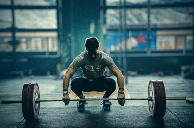 Clean & Jerk Setup at Crossfit Golden | Denver Fitness Photographers