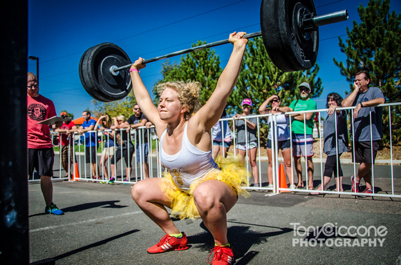 Camilla Voll & Overhead Squats | Denver Fitness Photographer