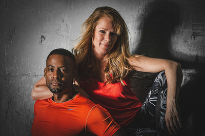Denver Fitness Photography Shoot with Jessica David Beal & Myk | Denver Fitness Photographers