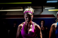 Denver Fitness Photographer with a blonde and strong crossfit woman
