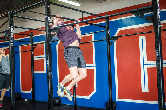Crossfit Event Fitness Photography of Crossfit Cherry Creek's Triple Threat | Volunteer's WOD