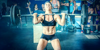 Crossfit Woman Keeping it Heavy | Denver Fitness Photographer
