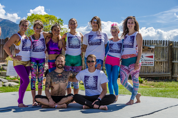 AcroYoga with High Frequency Loft | Taos Yoga Festival at KTAOS Solar Center | Photo #3