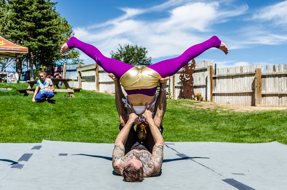 AcroYoga with High Frequency Loft | Taos Yoga Festival at KTAOS Solar Center | Photo #12