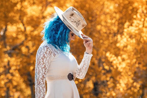 Fall hats photo shoot