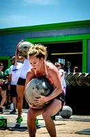 Crossfit Women | Legends Competition Atlas Stone Ladder