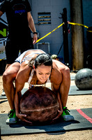Stone Ladder Event | Crossfit Women | Legends Competition