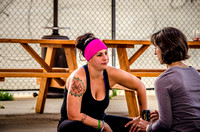 Denver outdoor yoga classes in the RiNo Art District