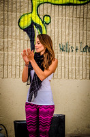 A Sunny Outdoor Yoga Event in Denver with Jennifer Pansa Yoga