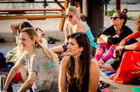 A Sunny Outdoor Yoga Event in Denver | Yoga Girls in Denver