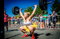 Strong Camilla & Overhead Squats | Denver Fitness Photographer