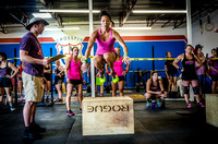 Denver sports event photography of the Crossfit Women's Open at Crossfit Cherry Creek's Triple Threat Crossfit Competition in Denver, CO