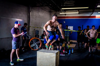 Denver event photography at Crossfit Cherry Creek's Triple Threat Competition | Crossfit Men's Open WOD 4
