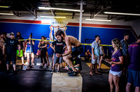 Denver event photography at Crossfit Cherry Creek's Triple Threat Competition | Crossfit Men's Open WOD 3