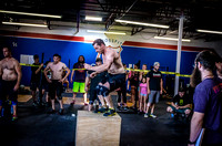 Denver event photography at Crossfit Cherry Creek's Triple Threat Competition | Crossfit Men's Open WOD 5