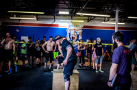 Denver event photography at Crossfit Cherry Creek's Triple Threat Competition | Crossfit Men's Open WOD 7