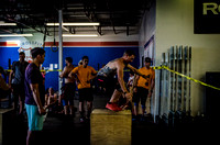 Denver event photography at Crossfit Cherry Creek's Triple Threat Competition | Crossfit Men's Open WOD 8