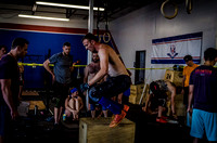 Denver event photography at Crossfit Cherry Creek's Triple Threat Competition | Crossfit Men's Open WOD 9