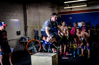 Denver event photography at Crossfit Cherry Creek's Triple Threat Competition | Crossfit Men's Open WOD 10