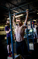 Denver event photography at Crossfit Cherry Creek's Triple Threat Competition | Crossfit Men's Open WOD 11