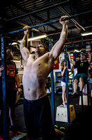 Denver event photography at Crossfit Cherry Creek's Triple Threat Competition | Crossfit Men's Open WOD 14