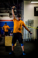 Denver event photography at Crossfit Cherry Creek's Triple Threat Competition | Crossfit Men's Open WOD 20