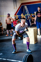 Denver sports event photography of Men's RX Crossfit Triple Threat Competition
