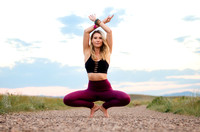 Denver Yoga Photography of Yoga Model in Mika Yoga Wear