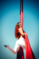 Caroline Lange Dancing in the Air | Denver Aerial Yoga Photography