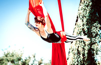 Denver Aerial Silk Artist LeahTard Wedgie | Yoga Photographer in Denver, CO