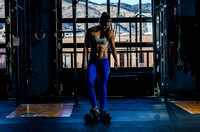 Denver Fitness Photography of crossfit girl Bria Lee.  Personal branding fitness photo shoot.