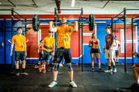 Denver Fitness Photography of Crossfit Men at the Crossfit Cherry Creek Triple Threat Competition