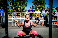 Back Squats at Girls Gone Rx | Denver Fitness Photography