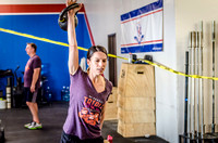 Crossfit Event Fitness Photography of Triple Threat Volunteers