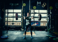 Denver Fitness photography of a male crossfit & olympic weightlifter athlete.
