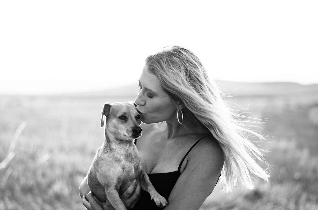 Denver Yoga Portrait Shoot with Pets & Yoga Models | Denver, CO